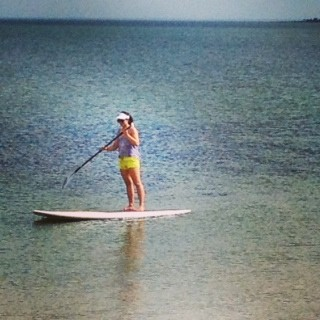 SUP Boarding Ultimate Core Strength Exercise